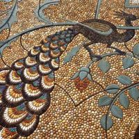 Мозаика из гальки4