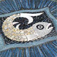 Мозаика из гальки8