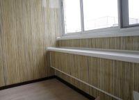 отделка стен ламинатом в лоджии 1