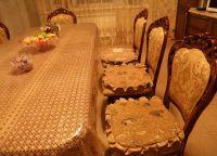 Подушки на стулья17