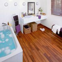 водостойкий ламинат для ванной 2