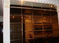 Зеркальная стена в прихожей -1
