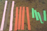 аппликация бабочка из цветной бумаги 1