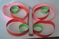 аппликация бабочка из цветной бумаги61