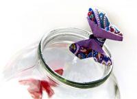 бабочка из ткани23