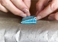 бабочка из ткани9