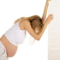 Боли в спине на первых днях беременности