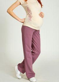 Брюки для беременных 6
