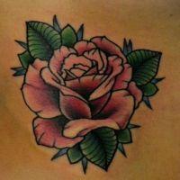 Что означает роза тату 3