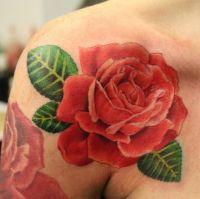 Что означает роза тату 6