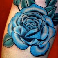 Что означает роза тату 9