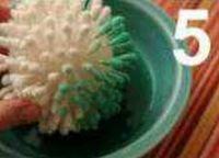 цветок из ватных палочек 5