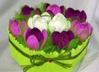 цветы из конфет своими руками244