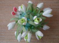 цветы из конфет своими руками25