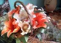 цветы из конфет своими руками39
