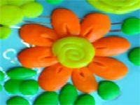 цветы из пластилина 20