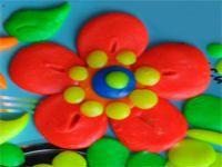 цветы из пластилина 21