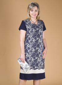Фасоны платьев из трикотажа 2