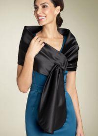 Накидка на вечернее платье 3