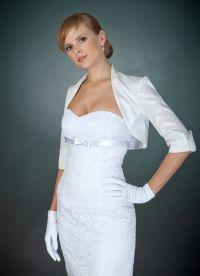 Накидка на вечернее платье 5