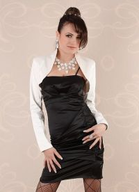 Накидка на вечернее платье 6