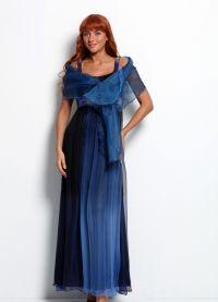 Накидка на вечернее платье 8