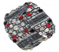 Широкие браслеты из бисера 3