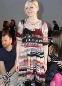 Вязаное платье на зиму 6