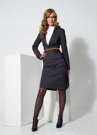 Женские деловые платья и костюмы 1