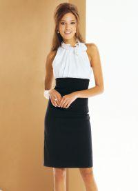 Женские деловые платья и костюмы 4