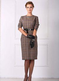 Женские деловые платья и костюмы 9
