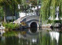 Мост на озере