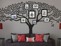 Дерево на стене с фотографиями 2
