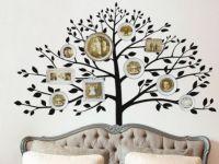 Дерево на стене с фотографиями 5