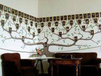 Дерево на стене с фотографиями 6