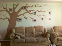 Дерево на стене с фотографиями 8