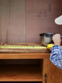 Детская кухня своими руками из старой
