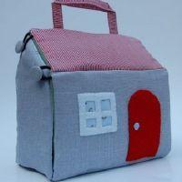 Детские домики из ткани
