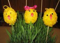 детские поделки цыпленок из яйца 6