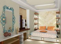 Дизайн маленькой спальни15