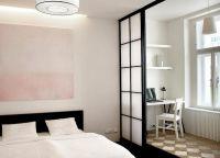 Дизайн маленькой спальни16