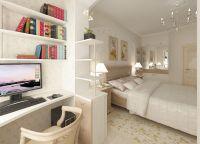 Дизайн маленькой спальни17