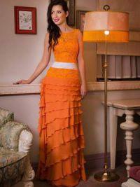 Длинные платья на выпускной 2015 3