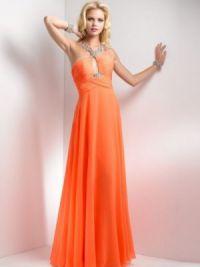 Длинные платья на выпускной 2015 4