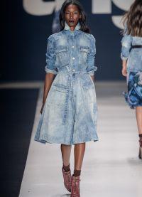 джинсовое платье 2015 12