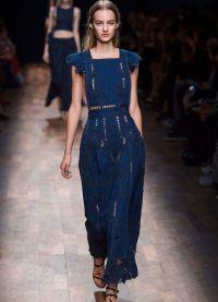 джинсовое платье 2015 13