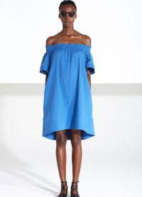 джинсовое платье 2015 17
