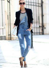 джинсовые комбинезоны 2015 1