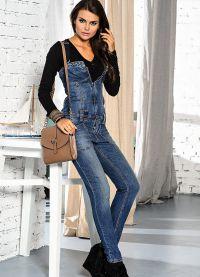 джинсовые комбинезоны 2015 2