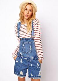 джинсовые комбинезоны 2015 4